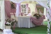 Оформление свадьбы Киев, прокат арки Киев,  флористика на свадьбу Киев